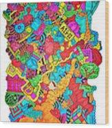 Hooya Wood Print by Chelsea Geldean