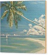 Hope Bay Wood Print by The Beach  Dreamer