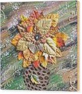 Hope Flower Wood Print