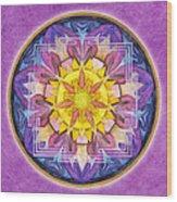 Hope Mandala Wood Print