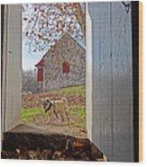 Hopewell Furnace And Pug 18 Wood Print