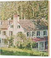 Hopewell Furnace In Pennsylvania Wood Print