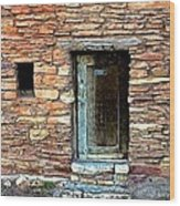 Hopi House Back Entrance Wood Print