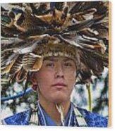 Hopi Warrior Wood Print