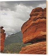 Hoping For Rain - Garden Of The Gods Colorado Wood Print