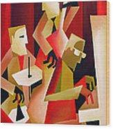 Horace Parlan Trio - Christiania - Copenhagen Wood Print