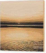Horizon 3 Wood Print