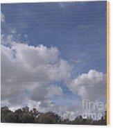 Horizon Sky Wood Print