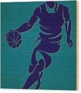 Hornets Basketball Player3 Wood Print