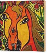 Horse - Animal - Friend Wood Print