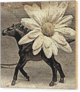 Horse Dream Wood Print