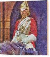 Horse Guard No.1 Wood Print