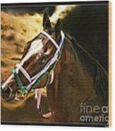 Horse Last Memories Wood Print
