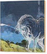 Horse Paintings 012 Wood Print