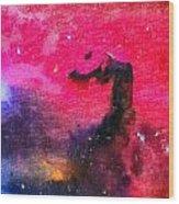 Horsehead Nebula Wood Print