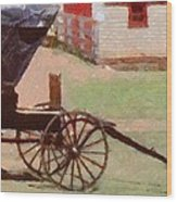 Horseless Carriage Wood Print by Jeff Kolker
