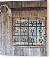 Horseshoe Art Wood Print