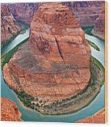 Horseshoe Bend Arizona Wood Print