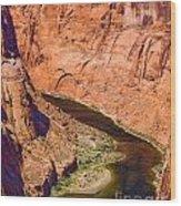 Horseshoe Canyon Wood Print