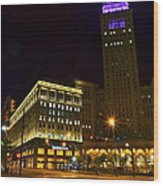 Horseshoe Casino Cleveland Wood Print