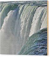 Horseshoe Falls Wood Print