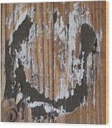 Horseshoe Print Wood Wood Print