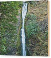 Horsetail Falls Wood Print
