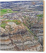 Horsethief Canyon Wood Print