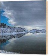 Horsetooth Reservoir Eastern Bank Wood Print