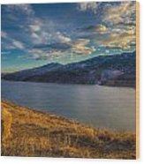 Horsetooth Reservoir Late Afternoon Wood Print