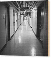 Hospital  Wood Print