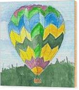 Hot Air Balloon 01 Wood Print