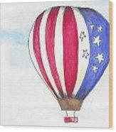 Hot Air Balloon 07 Wood Print