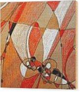 Hot Air Ballooning Wood Print