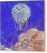 Hot Air Balloons Photo Art 04 Wood Print