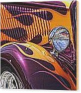 Hot Ford Wood Print