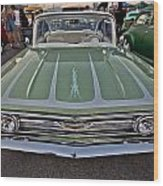 Hot Rod Chevy Wood Print by Merrick Imagery