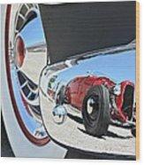 Hot Rod Reflecton  Wood Print