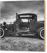 Hot Rod Revisited Wood Print