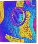 Hot Taylor Wood Print