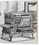 Hot Water Oven, 1875 Wood Print