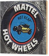 Hot Wheels Hot Heap Wood Print