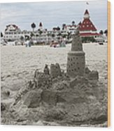 Hotel Del Coronado In Coronado California 5d24264 Wood Print by Wingsdomain Art and Photography