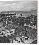 Hotel Pierre Dun Laoghaire 1958 Wood Print