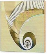 Hotel Staircase Lisbon Wood Print