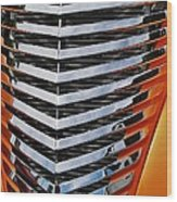 Hotrod Grill Wood Print