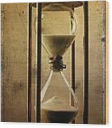 Hourglass  Wood Print by Bernard Jaubert