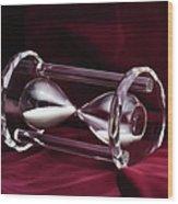 Hourglass Still Life Wood Print
