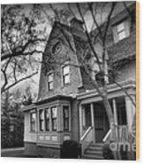 Old House 2  Wood Print