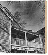 Old House 4 Wood Print
